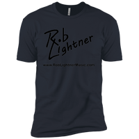 2019 Rob Lightner Summer Tour Black Logo NL3600 Next Level Premium Short Sleeve T-Shirt