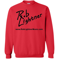 2019 Rob Lightner Summer Tour Black Logo G180 Gildan Crewneck Pullover Sweatshirt  8 oz.