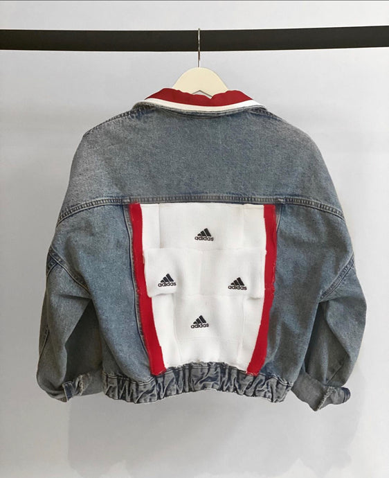 ADIDAS DENIM JACKET