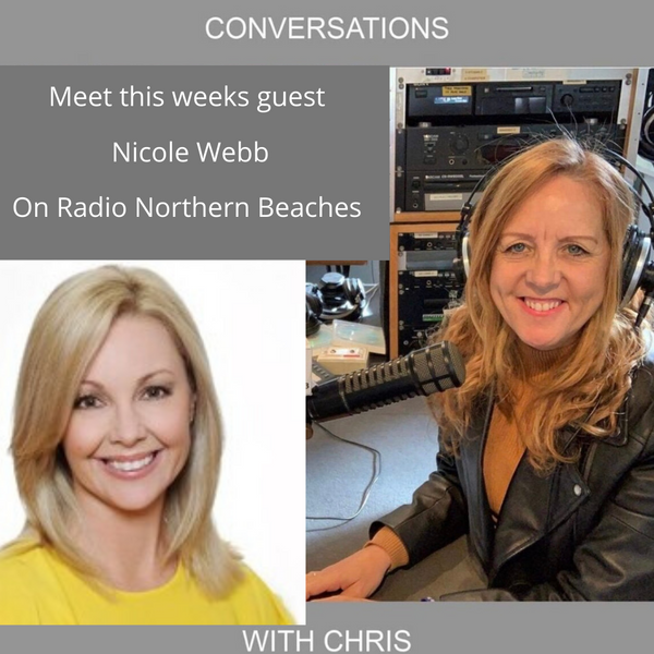 Conversations with Chris Talking with Nicole Webb