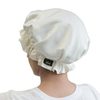 Ivory Sleep Bonnet / Cap