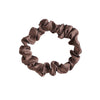 Small Chocolate Silk Hair Tie