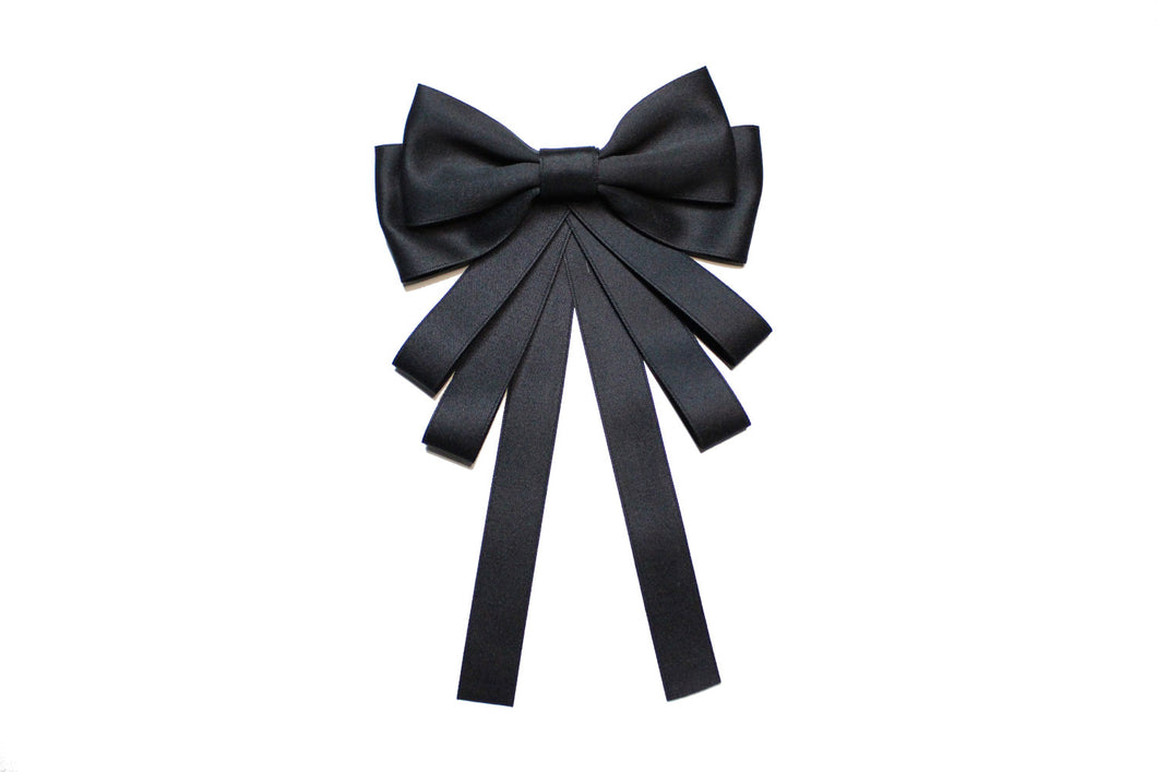 Cute Black Bow