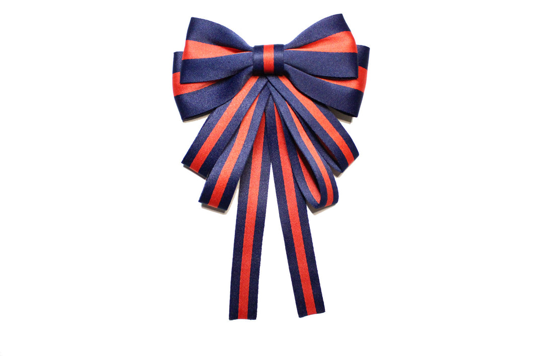 Cute Blue&Red Bow