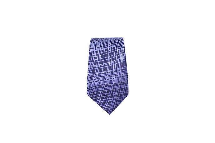 Men tie Blue scratch