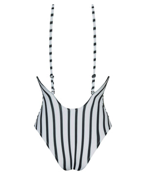 Boogaloo One-Piece Swimsuit TOCO Cross Back - Straight design Back