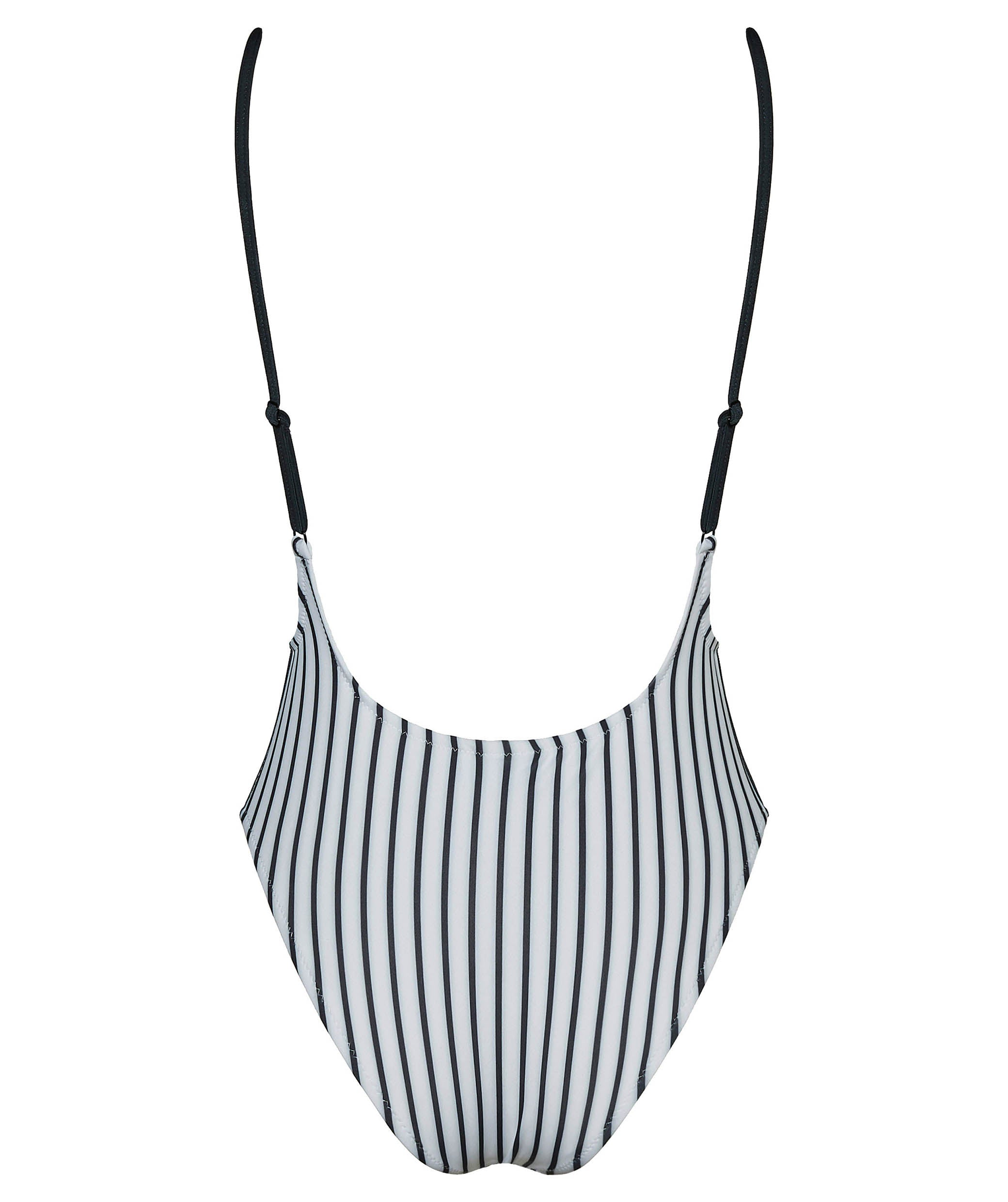Boogaloo One-Piece Swimsuit NINITO Rib Plunge - Back