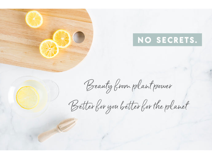 Let's talk lemons and essential oils!