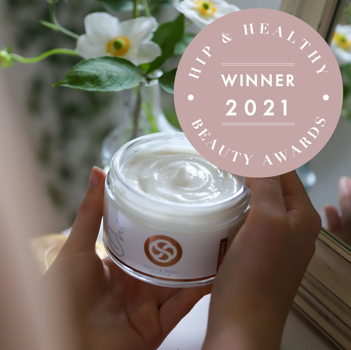 Best Body Cream! Hip & Healthy Awards 2021