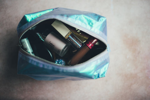 recycling make up and toiletries
