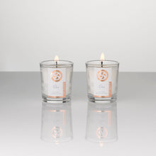 Load image into Gallery viewer, Soy wax, hand poured votive candles, scented with essential oils. suitable for vegans.