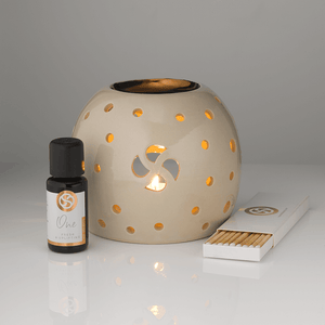 No Secrets Ceramic Oil Burner 100% Natural Ingredients no harmful chemicals