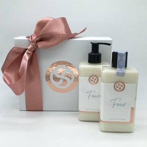 Four Shower Cream & Four Hand Cleanser Gift Set