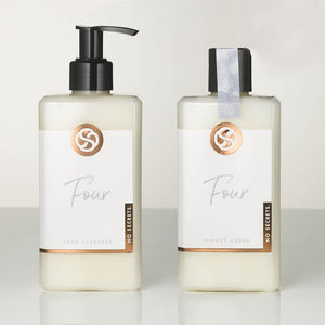 All natural, plant based hand wash and body wash gift set, infused with essential oil blend including geranium, neroli, ylang ylang, patchouli and lavender.