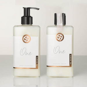 One Shower Cream & One Hand Cleanser