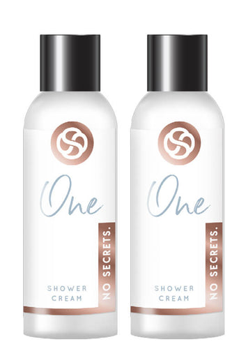 No Secrets Plant Based 100% Natural Shower Cream