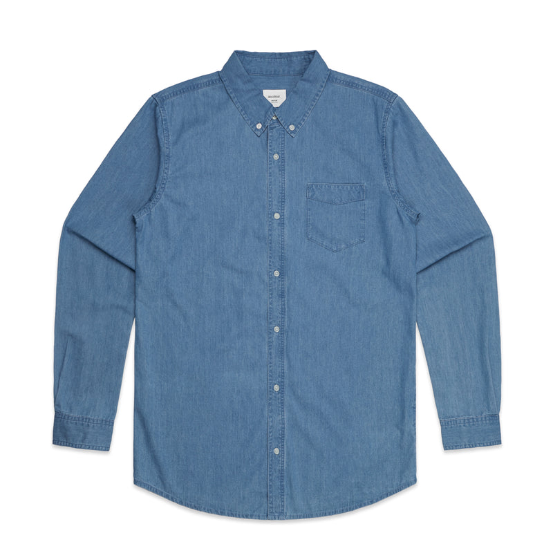 5409 BLUE DENIM SHIRT