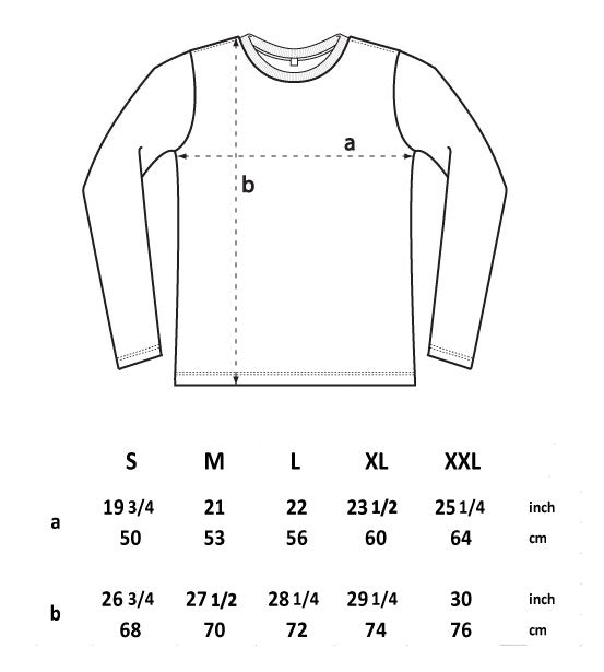 EP01L MEN'S / UNISEX LONG SLEEVE T-SHIRT
