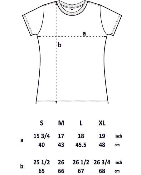 EP04C WOMEN'S SLIM FIT JERSEY T-SHIRT