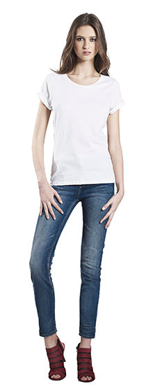 EP12 WOMEN'S ROLLED SLEEVE T-SHIRT