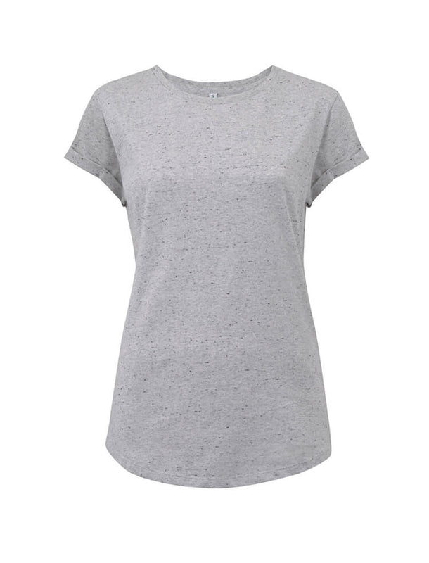 EP16 WOMEN'S ROLLED SLEEVE T-SHIRT