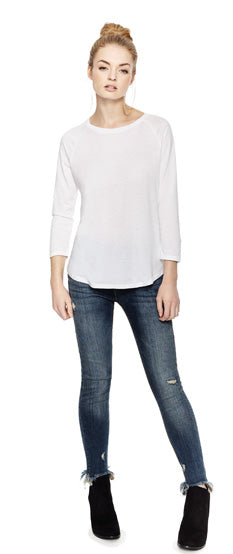 EP47 WOMEN'S TENCEL BLEND RAGLAN T-SHIRT