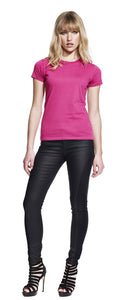 N12 WOMEN'S SLIM FIT JERSEY T-SHIRT