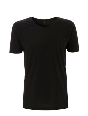 N21 MEN'S / UNISEX SCOOPED NECK T-SHIRT
