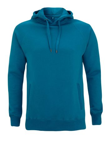 N50P MEN'S / UNISEX PULLOVER HOODY WITH SIDE POCKETS