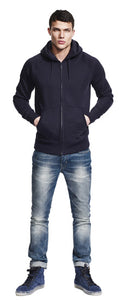 N51Z MEN'S / UNISEX RAGLAN ZIP-UP HOODY