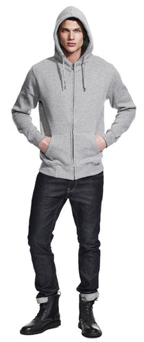 N52Z MEN'S HIGH NECK ZIP-UP HOODY
