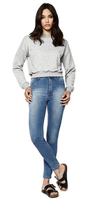 N57 WOMEN'S CROPPED SWEATSHIRT