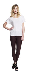 N90 WOMEN'S BATWING TUNIC TENCEL T-SHIRT