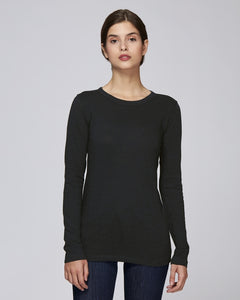 STTW025C STELLA FLATTERS SLUB THE WOMEN'S LONG SLEEVE SLUB T-SHIRT / COLORS