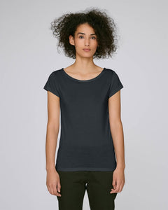 STTW031C STELLA GLOWS MODAL THE WOMEN'S BOAT NECK T-SHIRT / COLORS