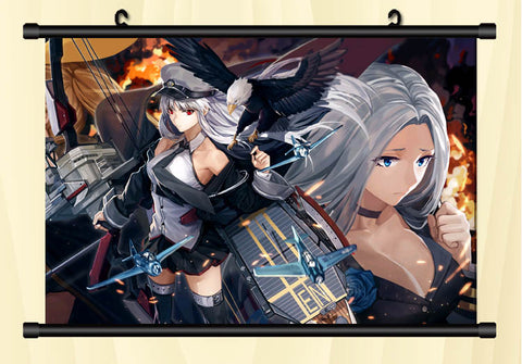 Image of Azur Lane Flames Of War Wall Scroll Poster