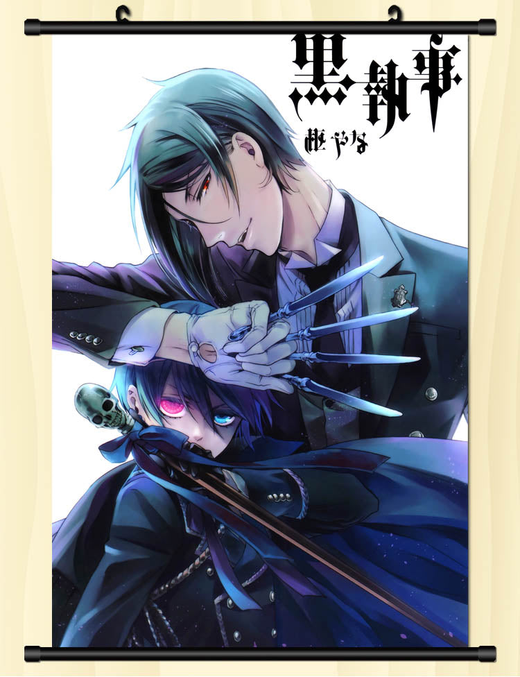 Black Butler Sign The Contract Wallpaper Wall Scroll Poster