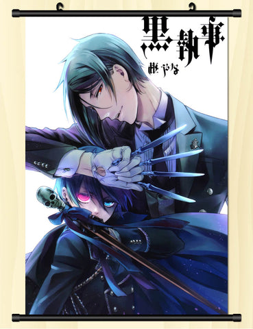 Image of Black Butler Sign The Contract Wallpaper Wall Scroll Poster