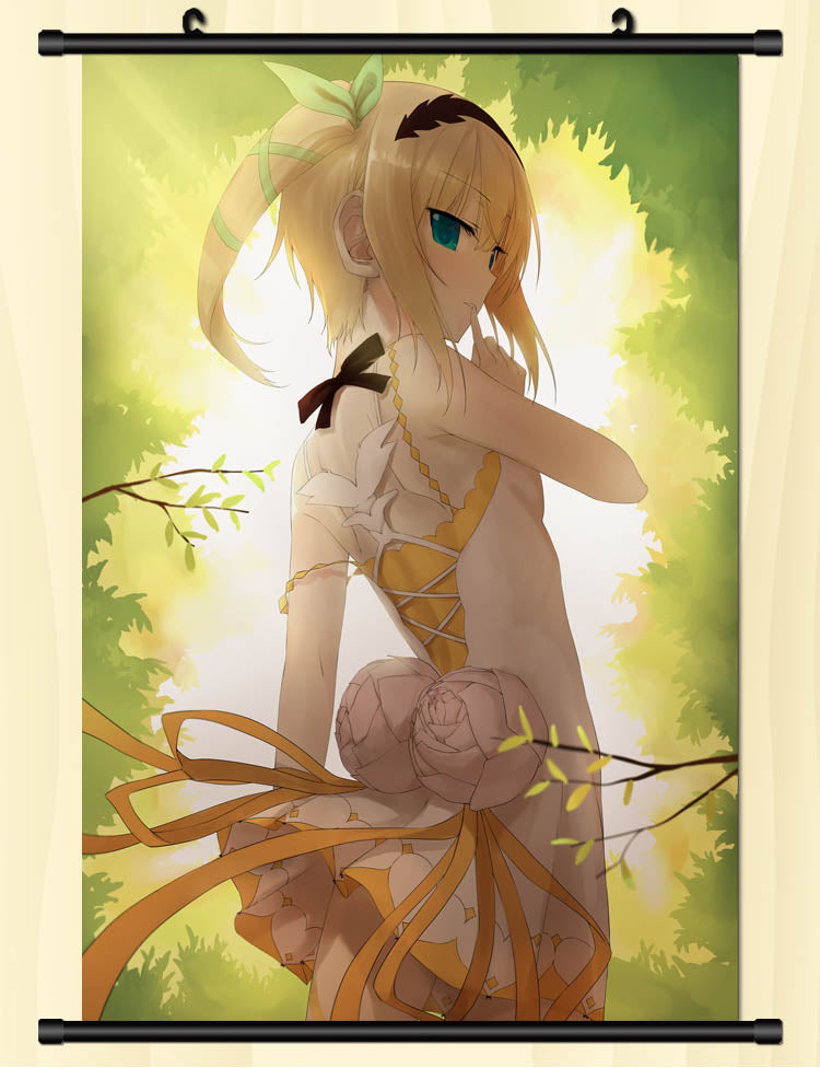 Tales Of Zestiria Edna In The Forest Wallpaper Wall Scroll Poster