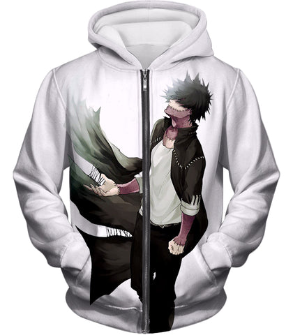 My Hero Academia White My Hero Academia Villain Dabi T-Shirt MHA012
