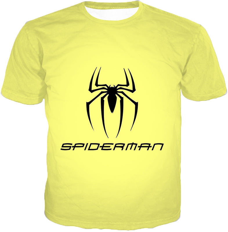 Awesome Spiderman Logo Promo Yellow Jacket SP123