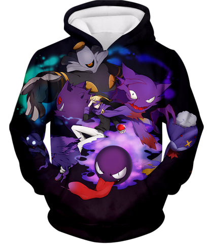 Image of Pokemon Awesome Ghost Type Pokemons Amazing Anime Tank Top PKM035