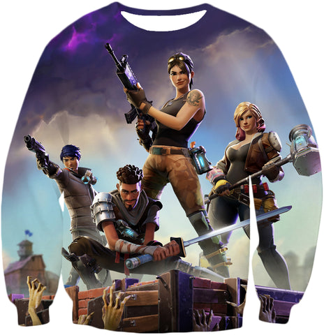 Image of Fortnite Tank Top Battle Royale Heroes Team Promo