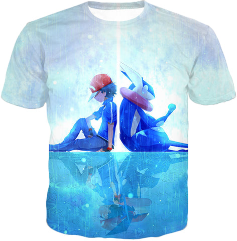 Image of Pokemon Awesome Pokemon Promo Ash X Greninja Cool Jacket PKM095