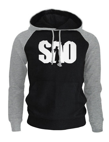 Anime SAO Print Fashion Men's Hoodie