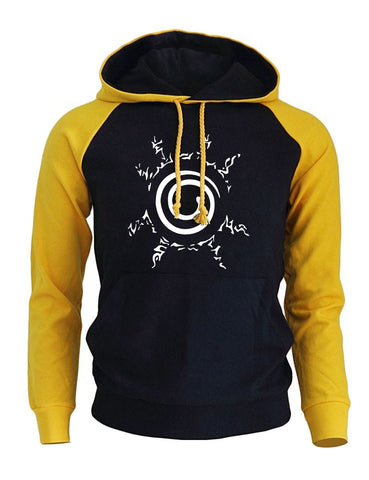 Image of Cool Print Harajuku Tracksuit Punk Men's Hoodie