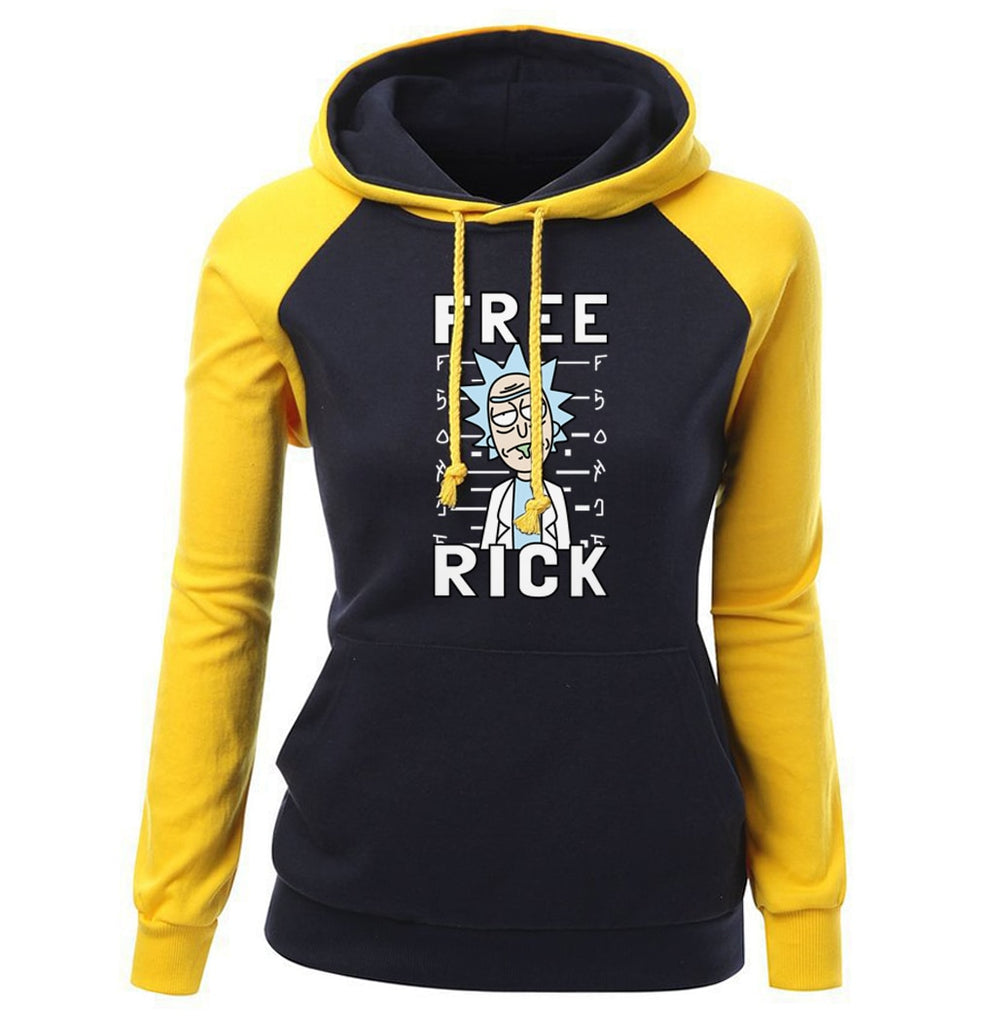 Free Rick And Morty Fashion Women's Hoodie