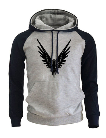 Image of Eagle Hip Hop Sportswear Men's Hoodie
