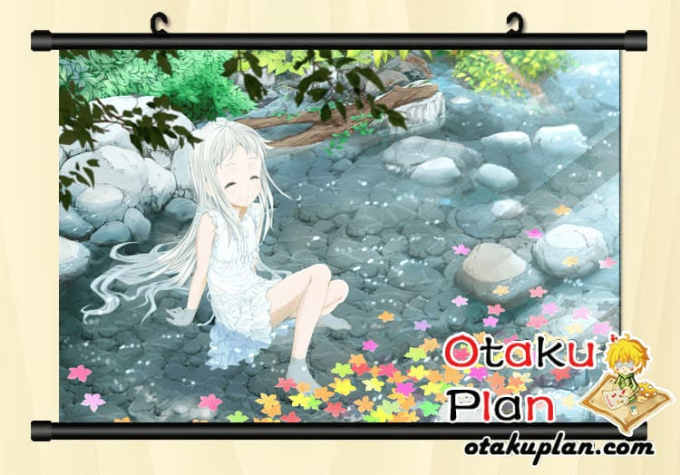 Anohana:the Flower We Saw That Day Honma Meiko Sunshine Smile Wallpaper Wall Scroll Poster - Poster