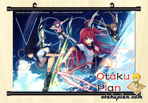 Image of Aokana: Four Rhythm Across The Blue Tea Time Wallpaper Wall Scroll Poster - Poster